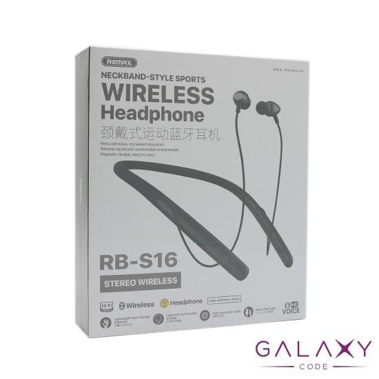 Bluetooth slusalice REMAX Sports RB-S16 crne