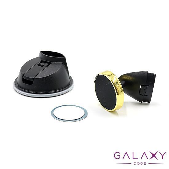 Drzac za mobilni telefon 7801A 360 magnetic crno-zlatni