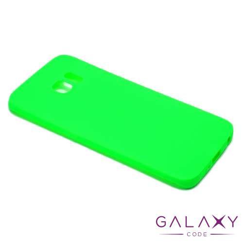 Futrola ULTRA TANKI KOLOR za Samsung G925 Galaxy S6 Edge zelena