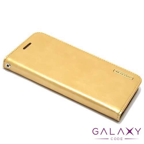 Futrola BI FOLD MERCURY Flip za Sony Xperia M4 Aqua zlatna