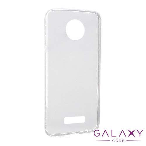 Futrola ULTRA TANKI PROTECT silikon za Lenovo Moto Z providna (bela)