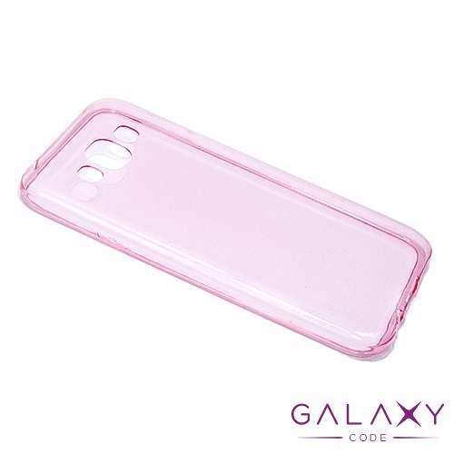 Futrola ULTRA TANKI PROTECT silikon za Samsung E500 Galaxy E5 pink