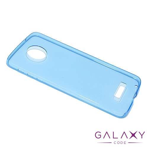 Futrola ULTRA TANKI PROTECT silikon za Lenovo Moto Z plava