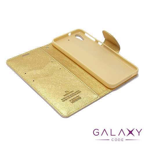 Futrola BI FOLD MERCURY za HTC Desire 628 zlatna
