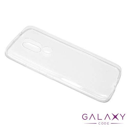 Futrola ULTRA TANKI PROTECT silikon za Motorola Moto M providna (bela)