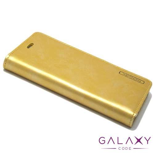 Futrola BI FOLD MERCURY Flip za Huawei P10 zlatna