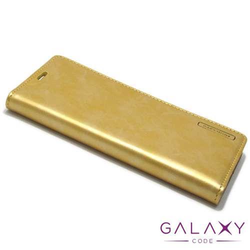 Futrola BI FOLD MERCURY Flip za Samsung G955F Galaxy S8 Plus zlatna