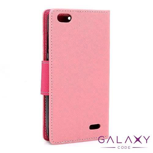Futrola BI FOLD MERCURY za Tesla Smartphone 6.2 Lite roze