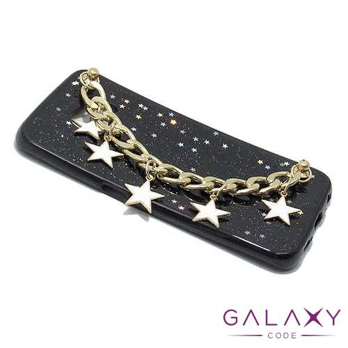 Futrola STAR BRACELET za Samsung G925 Galaxy S6 Edge crna model 2