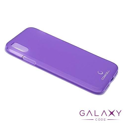 Futrola silikon DURABLE za Iphone X/XS ljubicasta