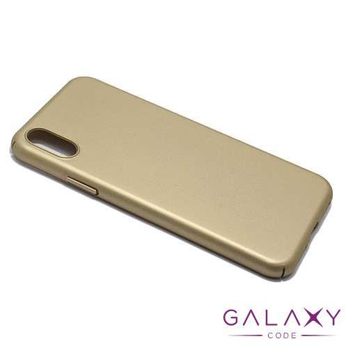 Futrola PVC Gentle za Iphone X zlatna