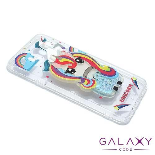 Futrola PVC LIQUID CLEAR za Samsung J710 Galaxy J7 2016 unicorn DZ01