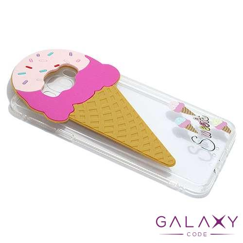 Futrola PVC CLEAR za Samsung J710 Galaxy J7 2016 icecream