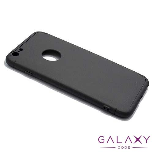 Futrola PVC 360 PROTECT za Iphone 6 Plus crna
