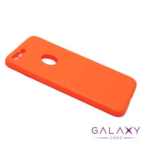 Futrola ULTRA TANKI KOLOR za Iphone 8 Plus narandzasta