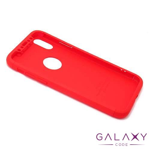 Futrola PVC 360 PROTECT za Iphone X/XS crvena