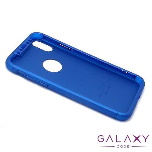 Futrola PVC 360 PROTECT za Iphone X/XS plava