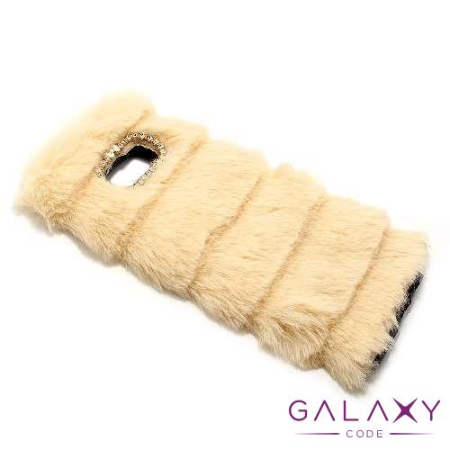 Futrola COAT za Samsung G955F Galaxy S8 Plus krem