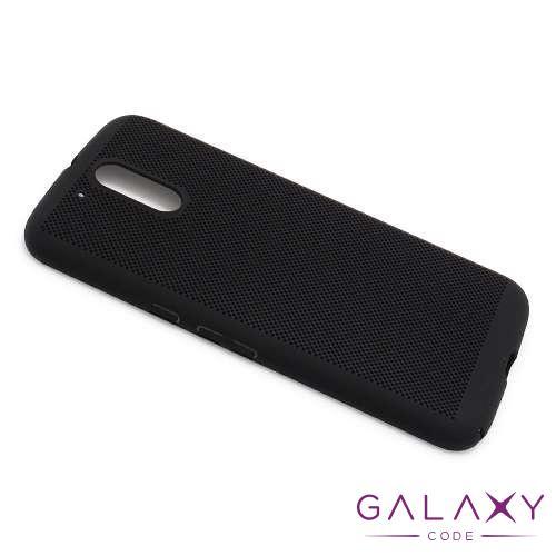 Futrola PVC BREATH za Motorola Moto G4 crna