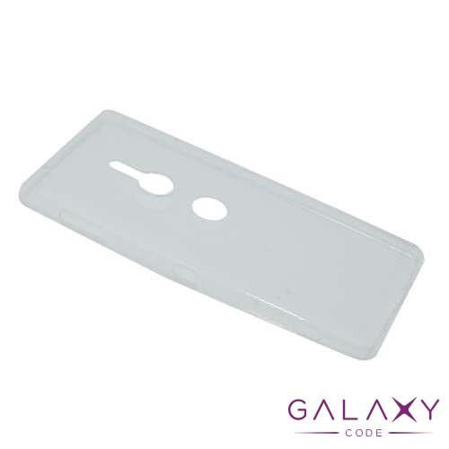 Futrola ULTRA TANKI PROTECT silikon za Sony Xperia XZ2 Compact providna (bela)