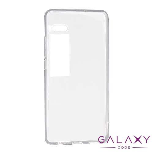 Futrola ULTRA TANKI PROTECT silikon za Meizu Pro 7 providna (bela)