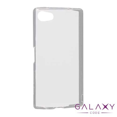 Futrola ULTRA TANKI PROTECT silikon za Sony Xperia Z5 Compact providna (bela)