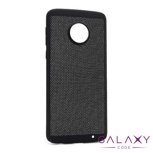 Futrola PVC BREATH za Motorola Moto G6 Plus crna
