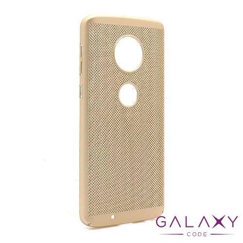 Futrola PVC BREATH za Motorola Moto G6 zlatna