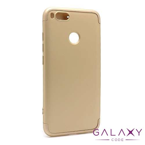 Futrola PVC 360 PROTECT za Xiaomi Mi 5X/A1 zlatna