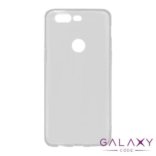 Futrola ULTRA TANKI PROTECT silikon za OnePlus 5T providna (bela)