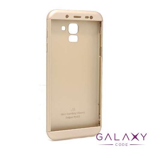 Futrola PVC 360 PROTECT za Samsung J600F Galaxy J6 2018 zlatna