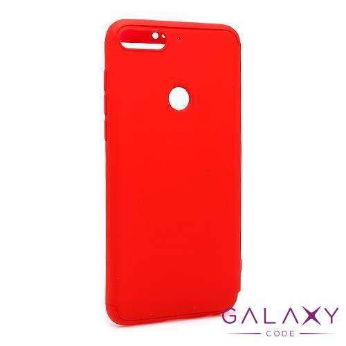 Futrola PVC 360 PROTECT za Huawei Y7 Prime 2018/Honor 7C crvena