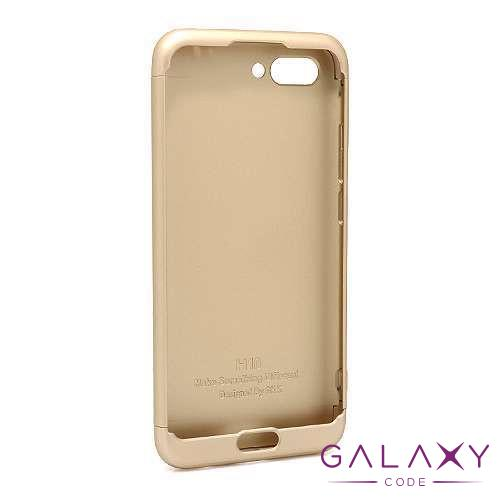 Futrola PVC 360 PROTECT za Huawei Honor 10 zlatna