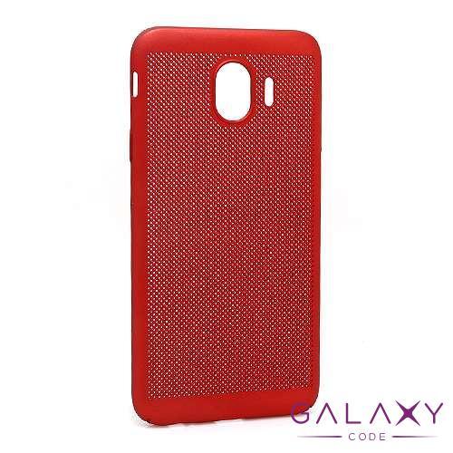 Futrola PVC BREATH za Samsung J400F Galaxy J4 2018 crvena