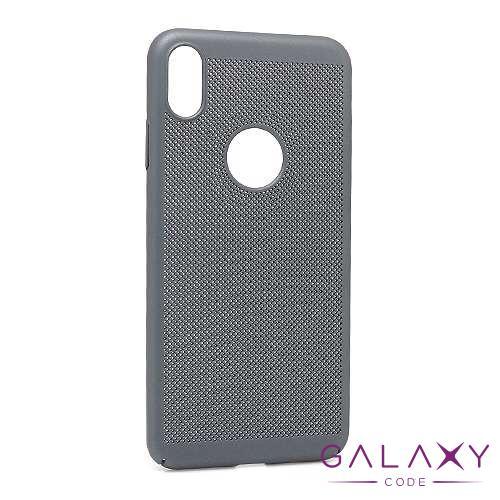 Futrola PVC BREATH za Iphone XS Max siva