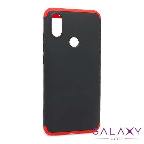 Futrola PVC 360 PROTECT za Xiaomi Mi 6X/A2 crno-crvena