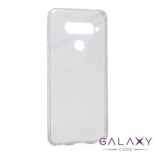 Futrola ULTRA TANKI PROTECT silikon za LG V40 providna (bela)