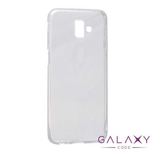 Futrola ULTRA TANKI PROTECT silikon za Samsung Galaxy J6 Prime providna (bela)
