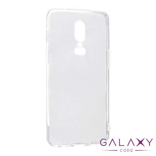 Futrola ULTRA TANKI PROTECT silikon za OnePlus 6 providna (bela)