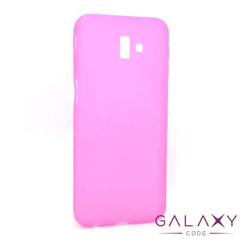 Futrola ULTRA TANKI KOLOR za Samsung J610F Galaxy J6 Plus roze