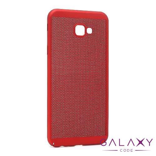 Futrola PVC BREATH za Samsung J415F Galaxy J4 Plus crvena