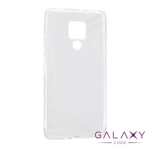 Futrola ULTRA TANKI PROTECT silikon za Huawei Mate 20 X providna (bela)