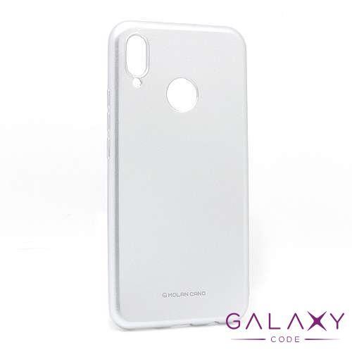 Futrola Jelly za Huawei P Smart Plus/Nova 3i srebrna