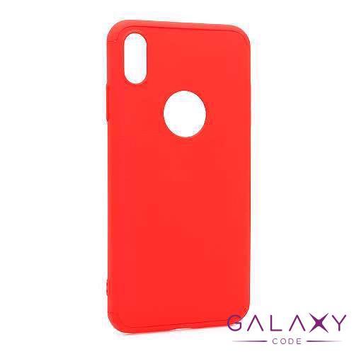 Futrola PVC 360 PROTECT za Iphone XS Max crvena