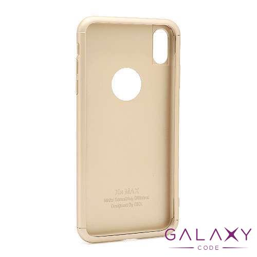 Futrola PVC 360 PROTECT za Iphone XS Max zlatna