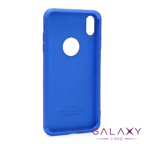 Futrola PVC 360 PROTECT za Iphone XS Max plava