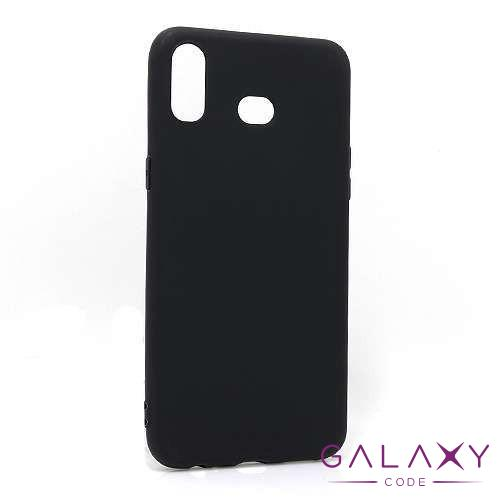 Futrola ULTRA TANKI KOLOR za Samsung Galaxy A6s crna