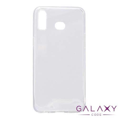 Futrola ULTRA TANKI PROTECT silikon za Samsung Galaxy A6s providna (bela)