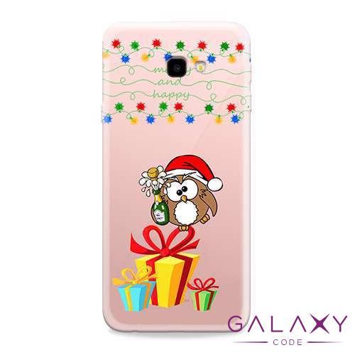 Futrola ULTRA TANKI PRINT CLEAR za Samsung J415F Galaxy J4 Plus ND0070