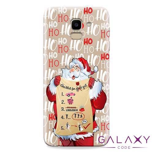 Futrola ULTRA TANKI PRINT CLEAR za Samsung J600F Galaxy J6 2018 ND0070